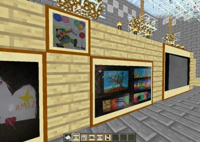 Real Art in Minecraft