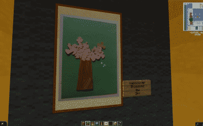 A real artwork coming from South Africa in Minecraft