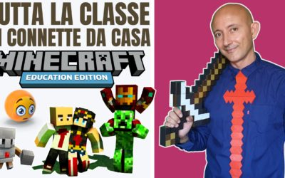 Come connettere la classe da remoto su Minecraft Education Edition