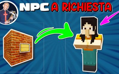 COME FAR COMPARIRE UN NPC SU MINECRAFT SENZA COMMAND BLOCK (PE PS4 SWITCH XBOX BEDROCK)