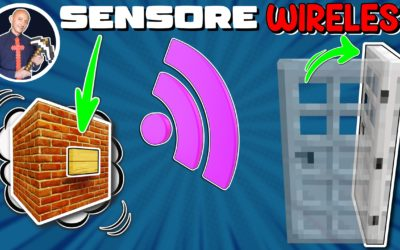 COME FARE UN SENSORE WIRELESS SU MINECRAFT (PS4 SWITCH XBOX PE BEDROCK PS5)